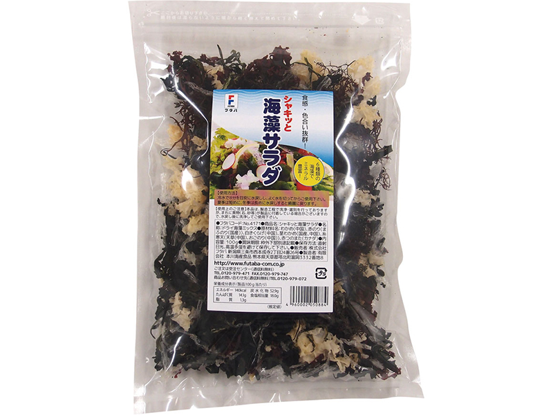 "Dried Seaweed ""Shakitto Kaiso salad"""