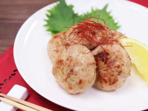 chicken tsukune umamidashi konbu